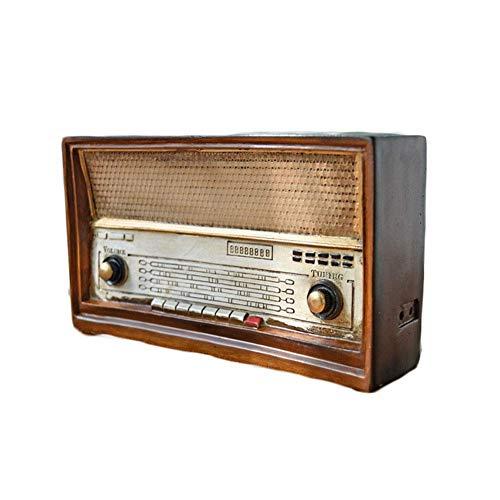 Antike Nachahmung Radio Modell Harz Nostalgie FM...