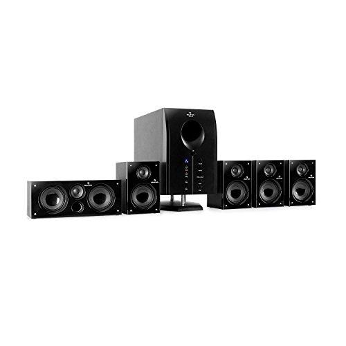 auna Areal 525 BK 5.1 Surround Sound System...