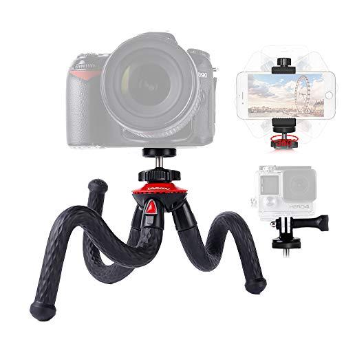 Lammcou Kamera Stativ 3in1 Handy Stativ Flexibel...