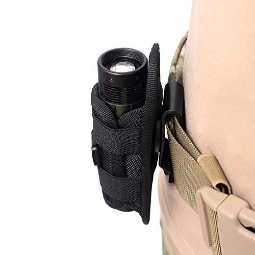 Yalatan Taschenlampe Taschenholster, Taktische 360...