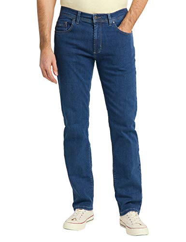 Pioneer Herren Rando MEGAFLEX Straight Jeans, Blau...