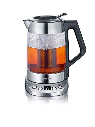 SEVERIN Glas-Tee-/Wasserkocher Deluxe, Mit...