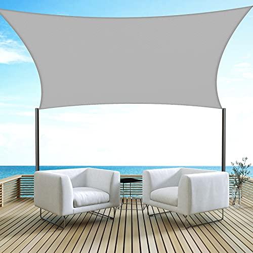 Velway Sonnensegel Sonnenschutz UV-Schutz...