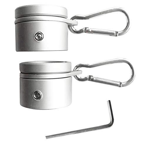 1 Paar Fahnenmast Ringe, Aluminium Fahnenmast...