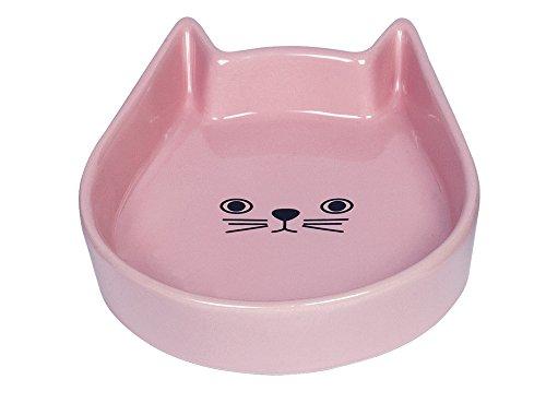 Nobby Katzen Keramik Schale 'Kitty Face' pink 13 x...