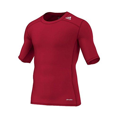 adidas Herren T-shirt TF Base SS, Power Red, L