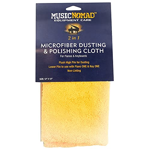 MusicNomad MN230 Microfiber Dusting and Polishing...