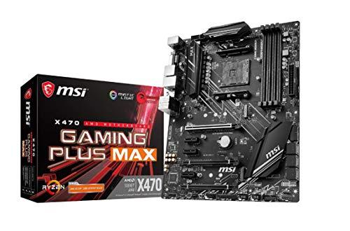 MSI X470 GAMING PLUS MAX AMD AM4 DDR4 m.2 USB 3.2...