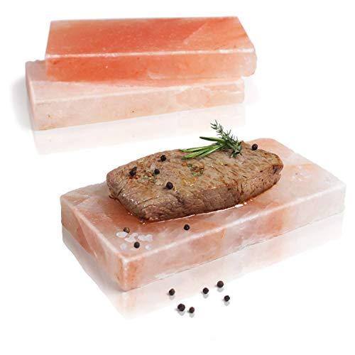 Amazy BBQ Salzstein zum Grillen (3 Stück) –...