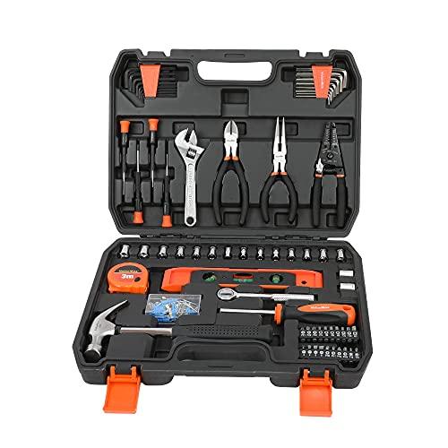 ValueMax Werkzeugset Haushalt 150tlg. Werkzeugsatz...