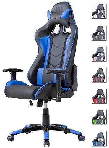 Delman Gaming Stuhl Bürostuhl Racing Stuhl...