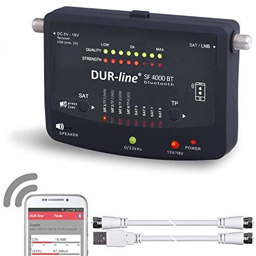 Bluetooth Easy SatFinder - DUR-line SF 4000 BT -...
