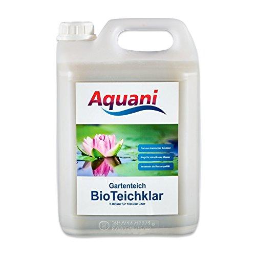 Aquani Bio Teichklar Gartenteich 5.000ml...