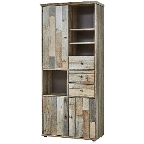 Bonanza Vintage Wohnzimmerschrank in Driftwood...