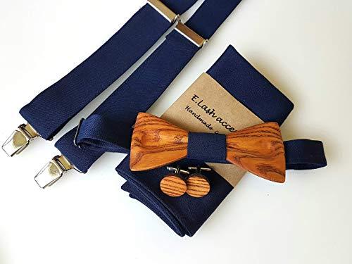 Hölzerne Fliege - Fliege für Hochzeiten -...