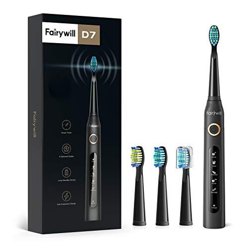 Fairywill Elektrische Zahnbürste Putzen Sie Ihre...