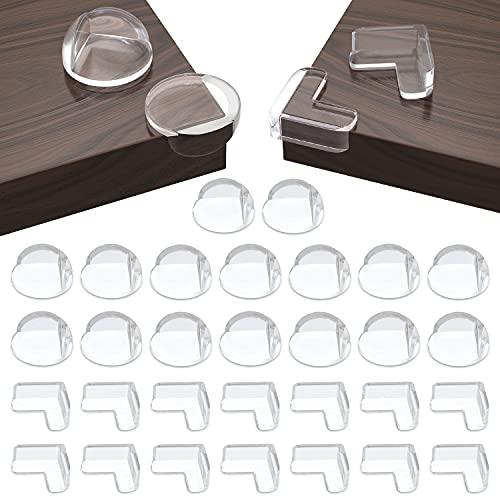 30 Stück Ecken&Kantenschutz Set(16 runde...