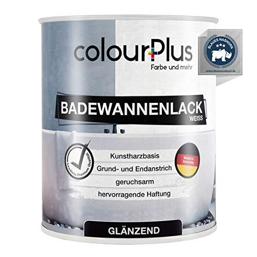 colourPlus® Badewannenlack (750ml, Weiß) 1K -...