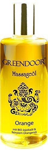 PREISAKTION - GREENDOOR Massageöl Orange 100ml...