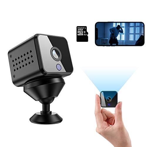 Mini Kamera Überwachungskameras HD 1080P WiFi...