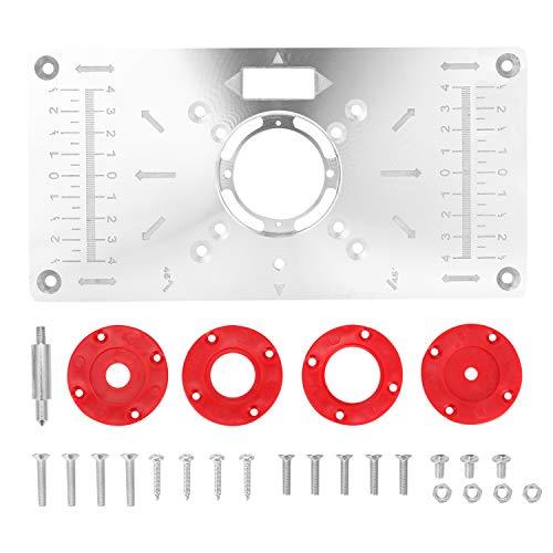 Kecheer Aluminium Fräser Tischplatte - Router...