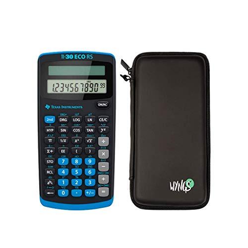 TI 30 ECO RS Taschenrechner mit Schutzhülle