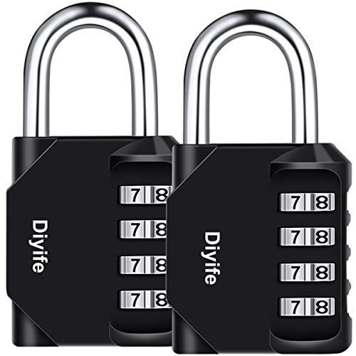 Diyife 2er Pack 4-Stelliges Zahlenschloss,...