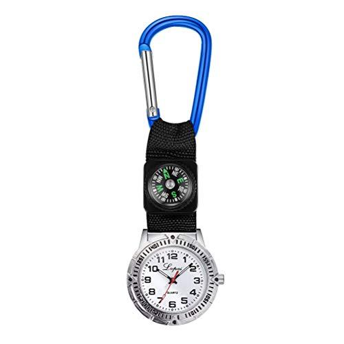 ifundom Bergsteigen Uhr mit Kompass Taschenuhr...