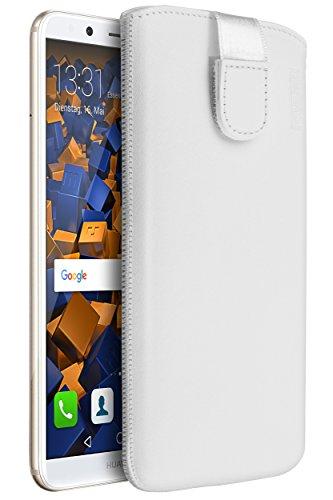 mumbi Echt Ledertasche kompatibel mit Huawei P9...