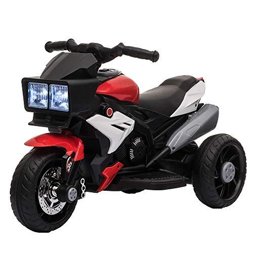 HOMCOM Elektrofahrzeug Kindermotorrad...