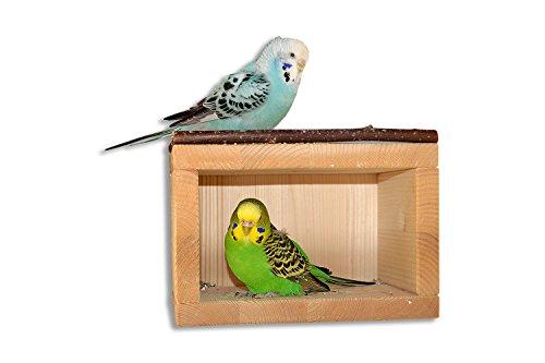 Süßes Vogelhäuschen, Schlafhaus aus Holz für...