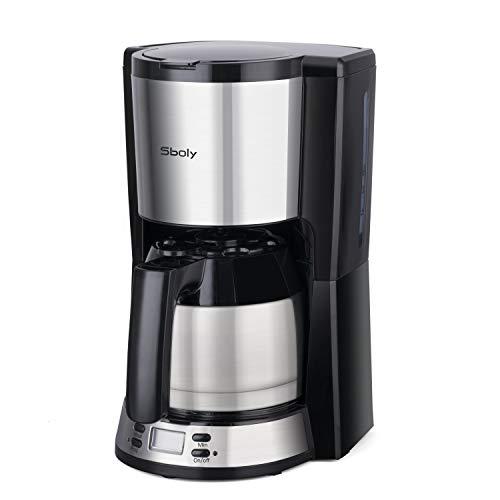 Kaffeemaschine mit thermoskanne, Sboly...