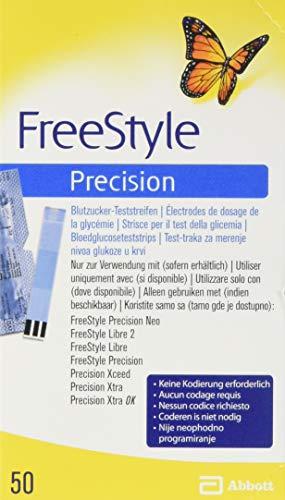 Freestyle Precision Blutzucker Teststr.o.codier....