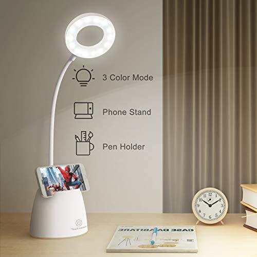 mixigoo LED Schreibtischlampe Kinder USB...