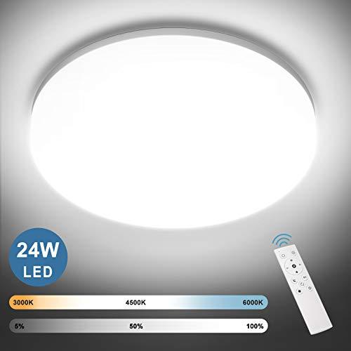 NIXIUKOL 24W LED Deckenleuchte Dimmbar,...