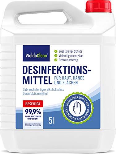 Desinfektionsmittel für Hände, Haut und Flächen...
