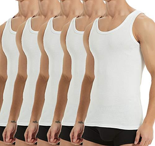 YouShow Unterhemd Herren Tank Top Muskelshirts...
