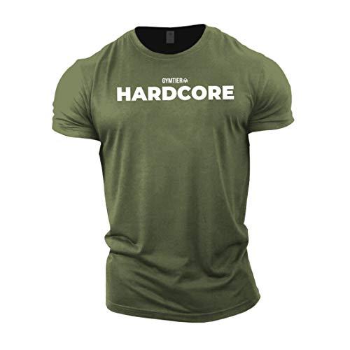 GYMTIER Hardcore - Bodybuilding-T - Shirt   Herren...