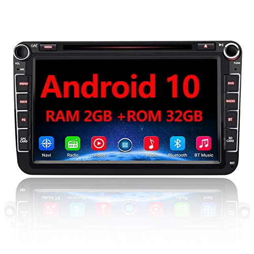 AWESAFE Android 10 Autoradio für VW Skoda Seat, 2...