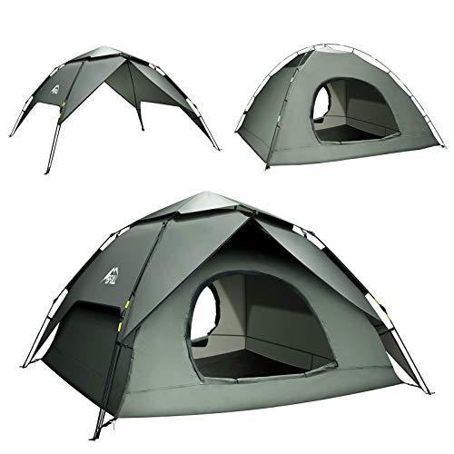 BFULL Pop-up Familie Camping Zelt 4-5 Personen,...