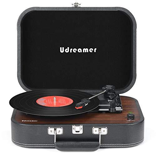 Plattenspieler Koffer Bluetooth Vinyl Player...