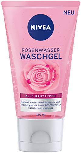 NIVEA Rosenwasser Waschgel (150 ml),...