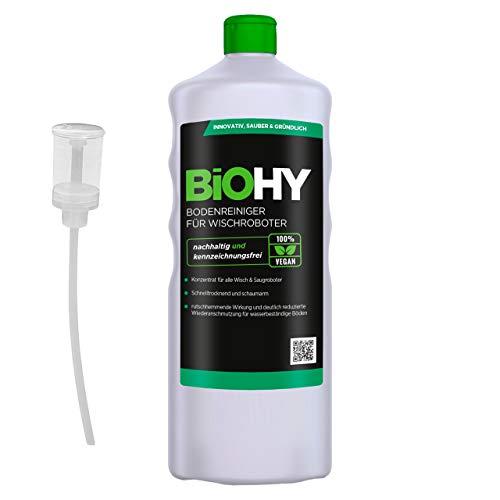 BiOHY Bodenreiniger für Wischroboter (1l Flasche)...