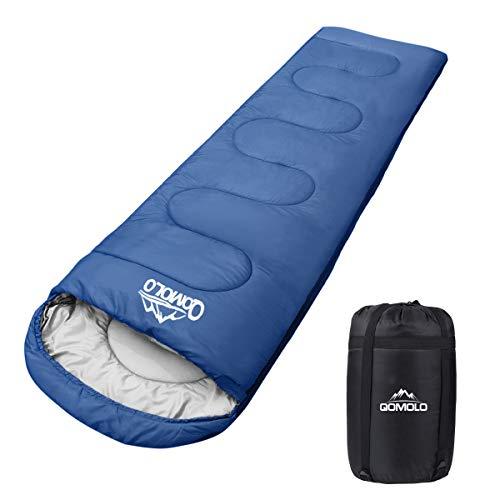 Qomolo Schlafsack, 1000g Outdoor Deckenschlafsack...