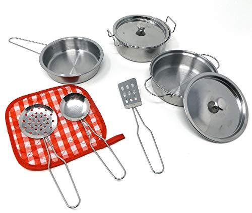 Brigamo Metall Kochgeschirr Set Kinderküche...