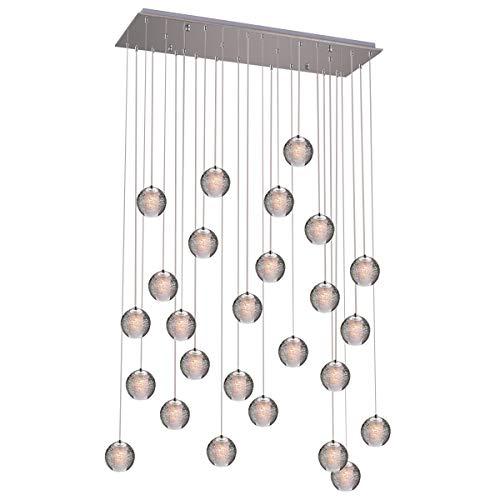 KJLARS Pendelleuchte LED Moderne Pendellampe...
