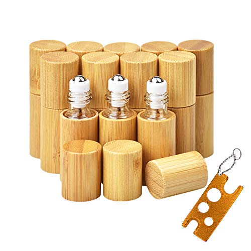 12 Stück Roll On Flaschen für ätherisches Öl...
