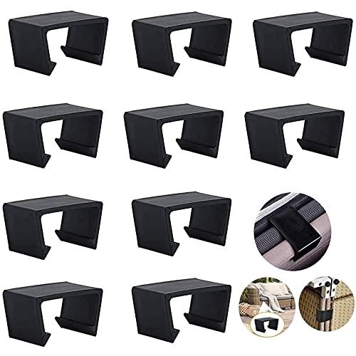 10 Stück schwarz Extra Starke Verbinder Patio...