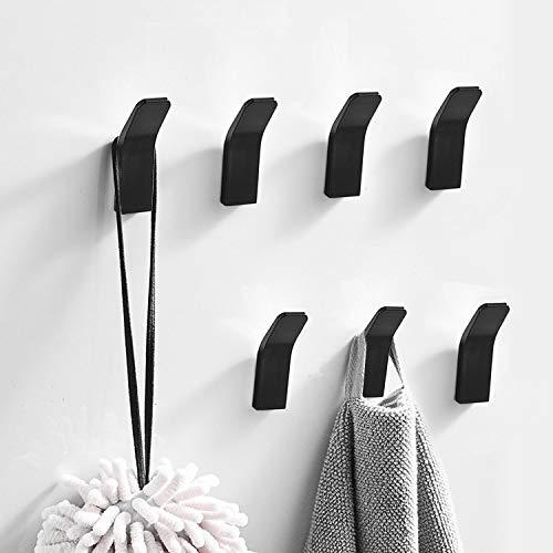 Handtuchhalter ohne bohren, 7 Stück Handtuchhaken...