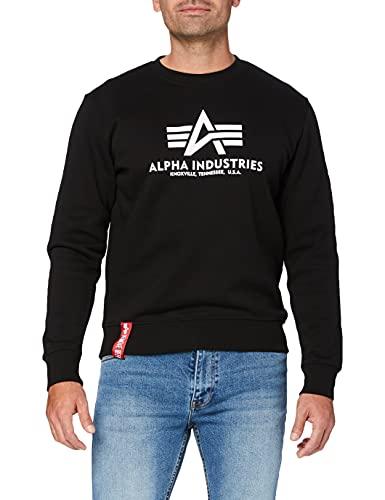 ALPHA INDUSTRIES Herren Basic Sweater Pullover,...